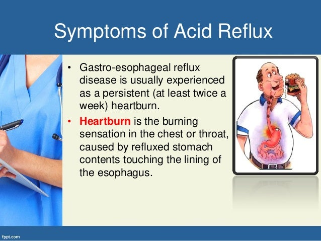 4. Signs of Acid Reflux ...