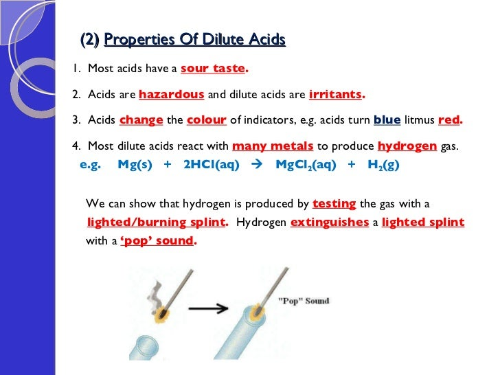 characteristics of acids and acid base reactions Acids and bases concept the name acid calls to mind vivid sensory images — of tartness, for instance, if the acid in question is meant for human consumption, as with the citric acid in lemons on the other hand, the thought of laboratory-and industrial-strength substances with scary-sounding names, such as sulfuric acid or hydrofluoric.