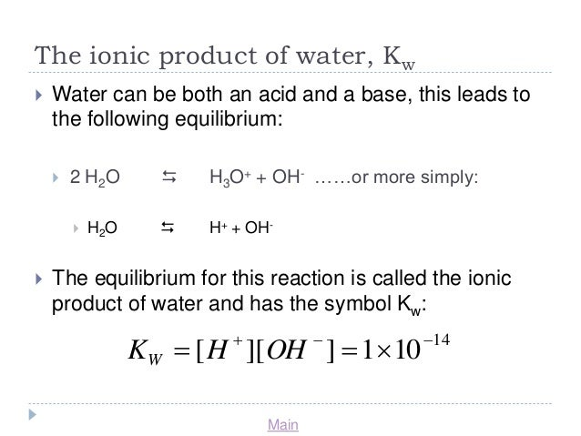 Acids and Bses