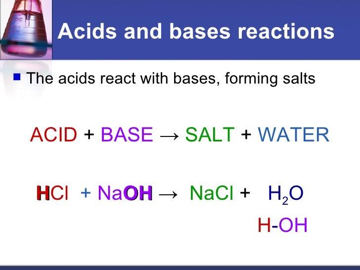 Acids bases by By MUHAMMAD FAHAD ANSARI 12 IEEM 14