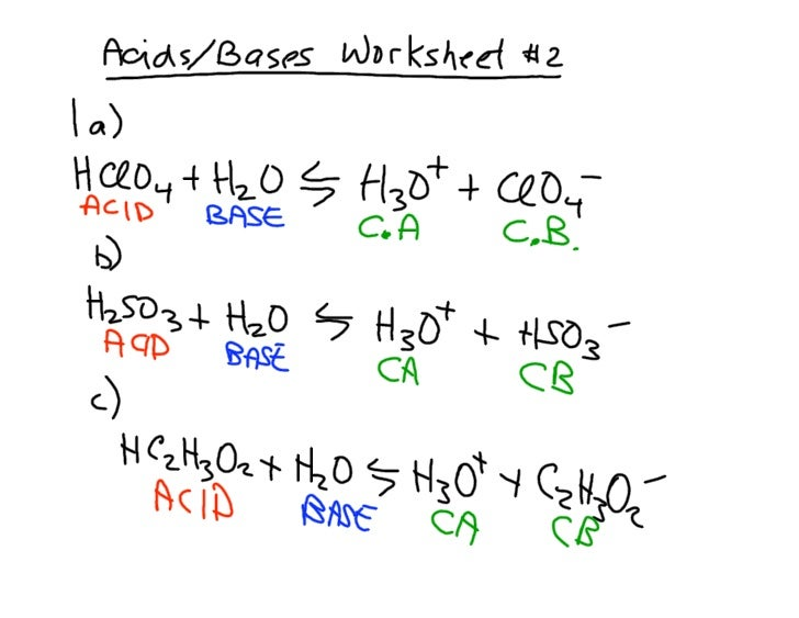 Acids Bases Assignment 2