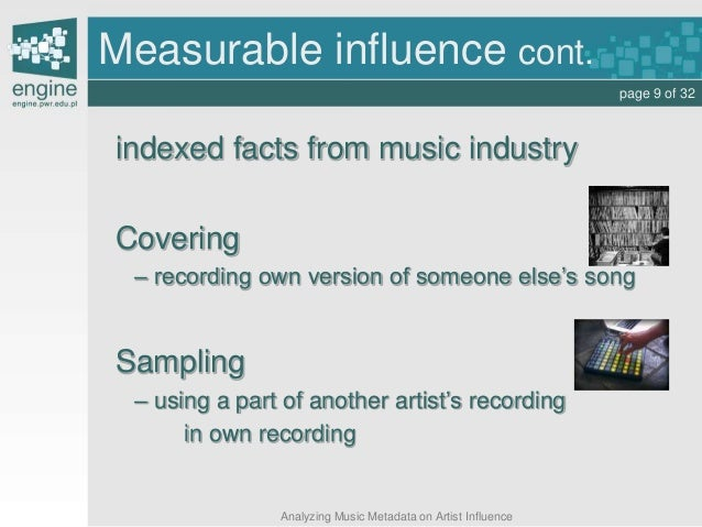 music and influence Music should also be a tool in every marketer's tool bag marketers and  advertisers have long known the power of music to influence consumer.