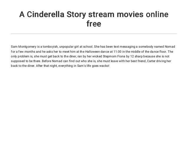 Cinderella Story 3 Stream