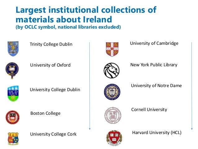 Irish Studies - making library data work harder