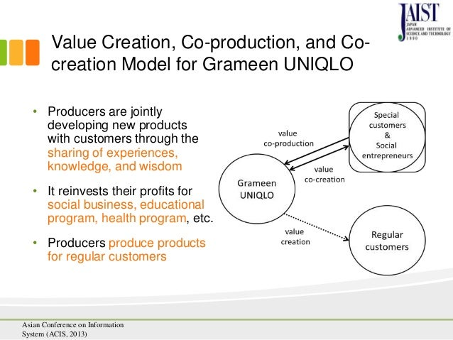 benefits of co creation of value Co-creation is a management initiative, or form of economic strategy, that brings  different  value is co-created with customers if and when a customer is able to   in an attractive way they are reluctant to participate and benefit the company.
