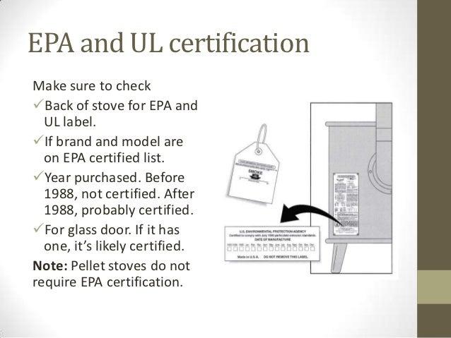 EPA ... - Aci Wood Stoves & Energy Audits