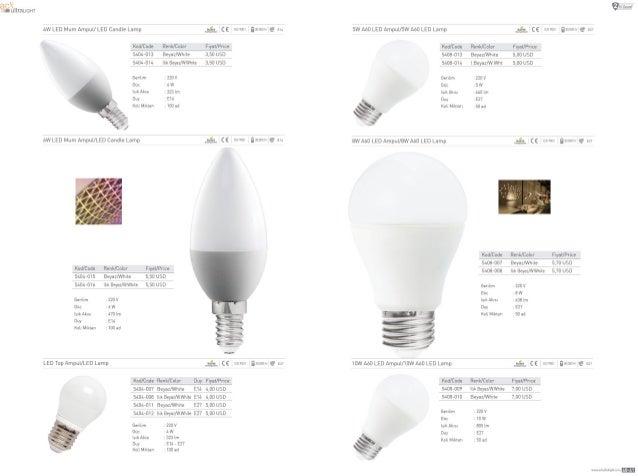 um ullrauuw  4W LED Mum AmpuU LED Camfle Lamp                   Kan/ Code Rank/ Cat sun 3 Eeyaz/ Wmle 514GA—DH.  Wk Eeyaz/ ...