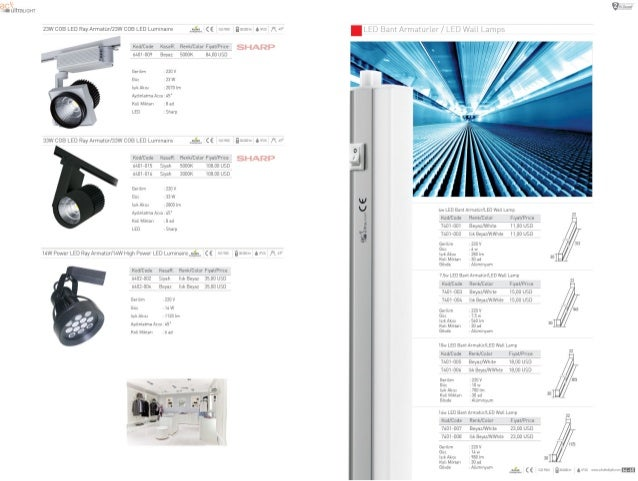 ' er/ mm  ac< -LL') 5,  VIII ultraucm  wt Ar'mamr'L~'v '_tLJ '/ at!  Lamps       23w cos LED Ray Armalur/23W cos LED Lumln...