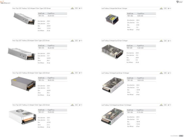 lnce np LED Trafosu 15,5 Amperl sum Type LED Driver  Kod/ Code FLY31/Price 7001—014 25.1-D USD  Gm:  GerLlLmL 220v cLkLs G...