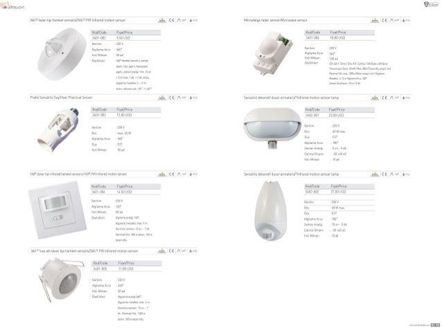 "360 '' Iavan hp:  harekel sensoru/360 "" PVR Infrared matron sensor   (E W. '-  Knd/ Code Fryal/ Price Z401—UU2 950 USD Ger..."