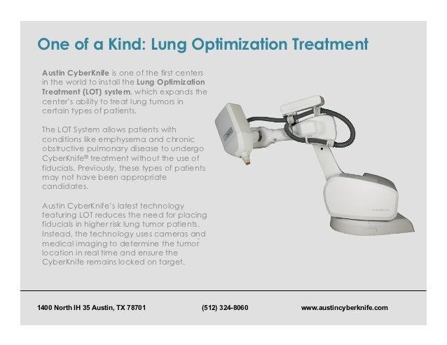 Austin Cyberknife Lung Cancer Awareness Month