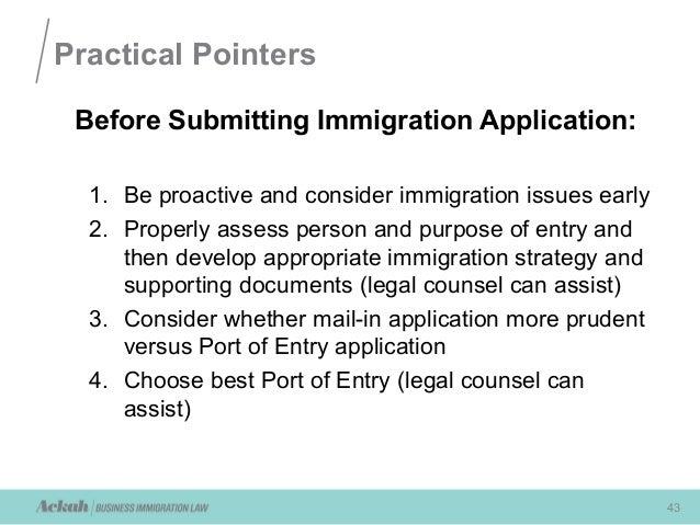 immigration recruitment form 2013