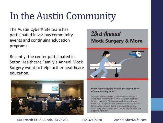In  the  Austin  Community   1400  North  IH  35,  Aus2n,  TX  78701   512-‐324-‐8060   Aus2nCyb...