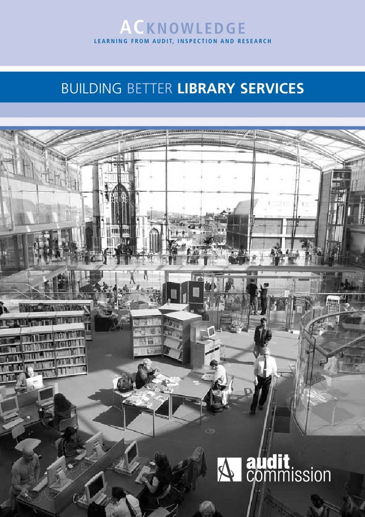Building Better Library Services