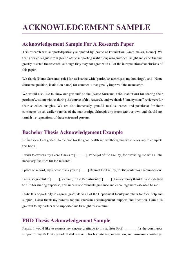 acknowledgement letter for thesis paper This article is brought to you for free and open access by the anthropology  department research reports series at scholarworks@umass amherst it has  been.