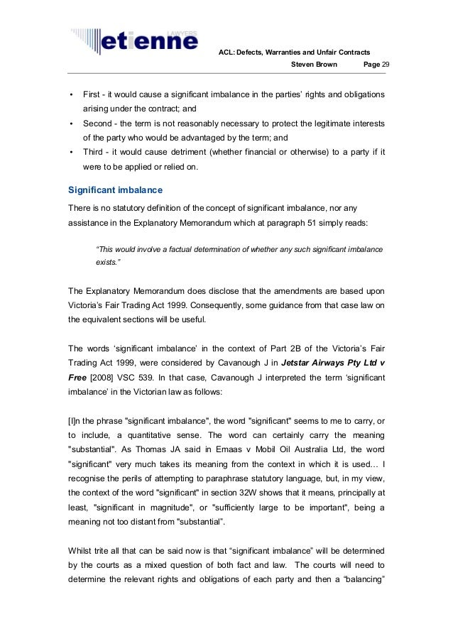 essay on unfair contract terms Free essay: the earlier list, referred to clauses which enabled a business to alter unilaterally the contract terms without a valid reason being specified in.