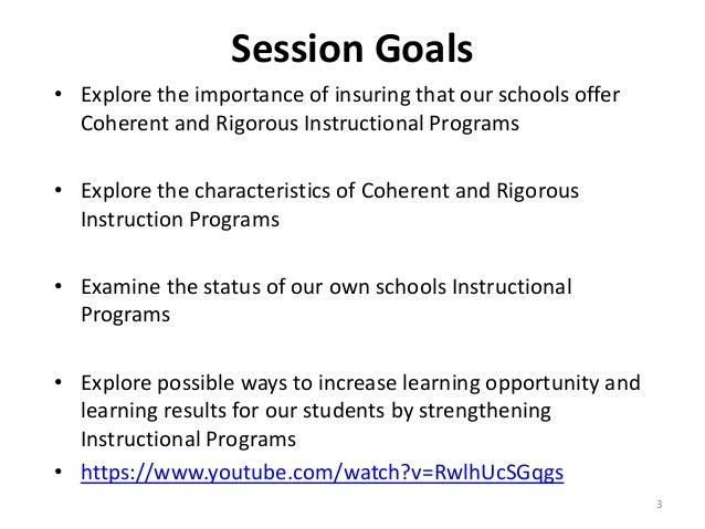 instructional programs in education