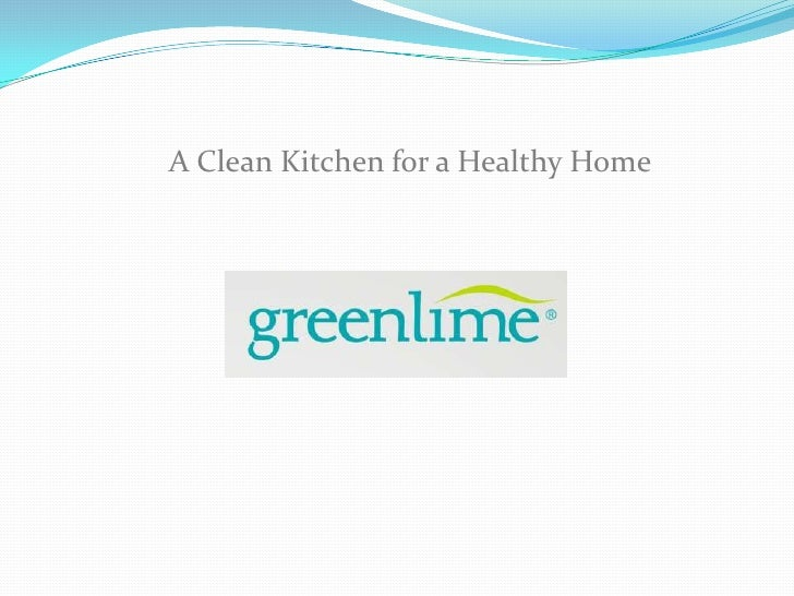 A Clean Kitchen for a Healthy Home