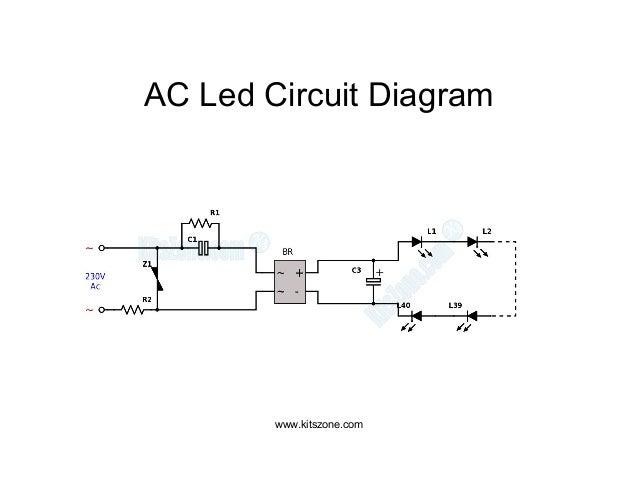 ac led circuit diagram led lighting circuits 220v ac 230v ac rh slideshare net ac led circuit diagram ac led circuit capacitor