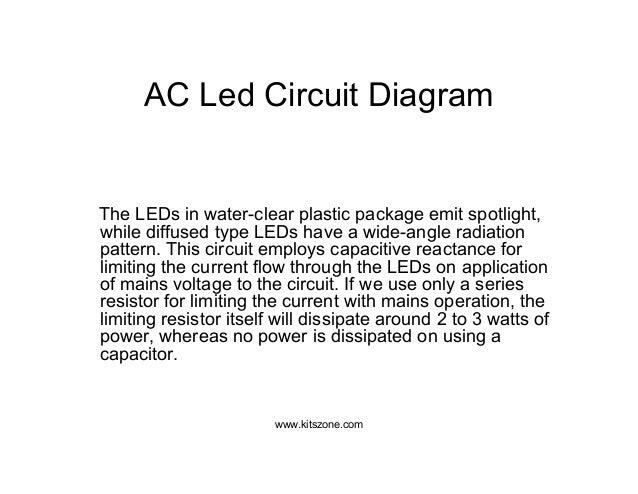 ac led circuit diagram led lighting circuits 220v ac 230v ac rh slideshare net 230V Hydraulic Wiring-Diagram Rotary Phase Converter Wiring Diagram