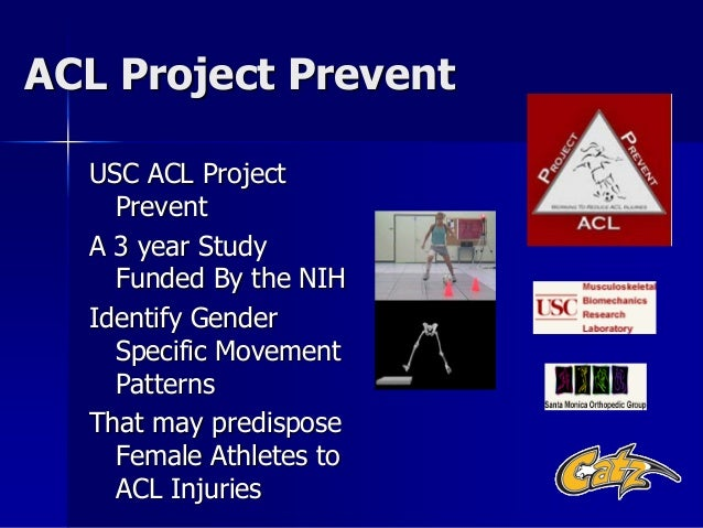 an analysis of the issue of prevention and treatment of acl injuries Treatment and rehabilitation costs are estimated at $17,000 per acl injury, which do not take into account the potential loss of long-term participation, loss of scholarship funding, and future disability from arthritic changes in a reconstructed knee1 for these reasons, a shift toward injury prevention is.