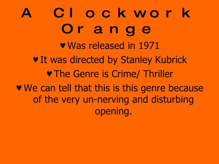 an analysis of the anarchy in the book a clockwork orange Tagged: a clockwork orange follow:  get the best-selling book that connects natural and financial disasters to america with our treatment of the nation of israel.