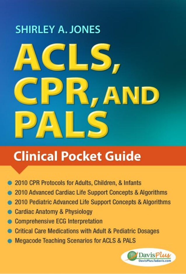 Acls Cpr And Pals Jones Shirley