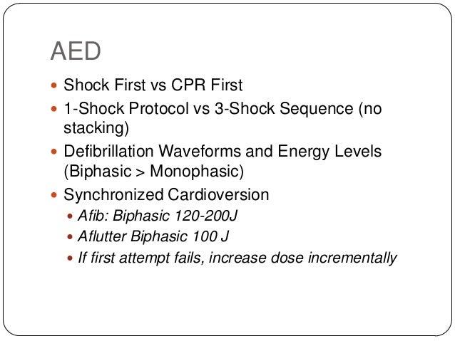 Synchronized Cardioversion  Unstable SVT  Unstable atrial fibrillation  Unstable atrial flutter  Unstable monomorphic ...