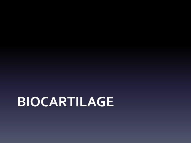 BIOCARTILAGE