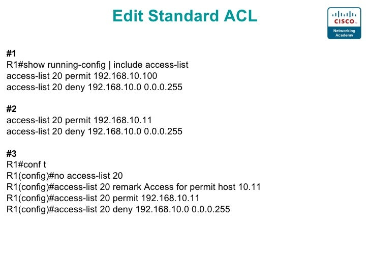 access list pdf for cisco