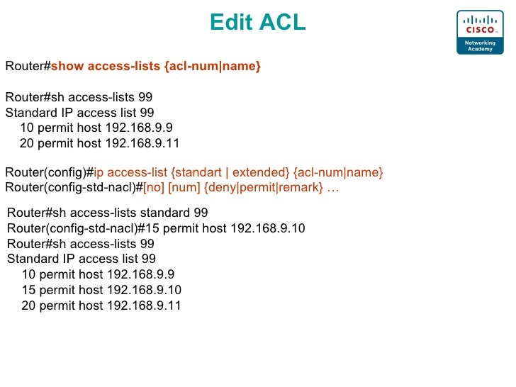 Prerequisites for MAC Access Control Lists