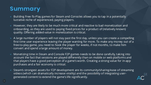 The Keys to Making Successful Free-to-Play Games on Steam