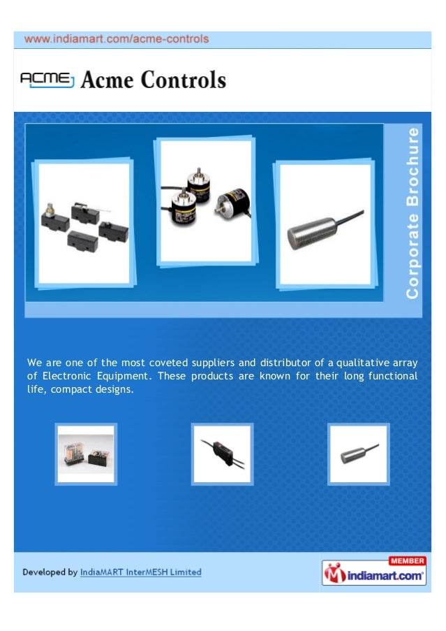 We are one of the most coveted suppliers and distributor of a qualitative arrayof Electronic Equipment. These products are...