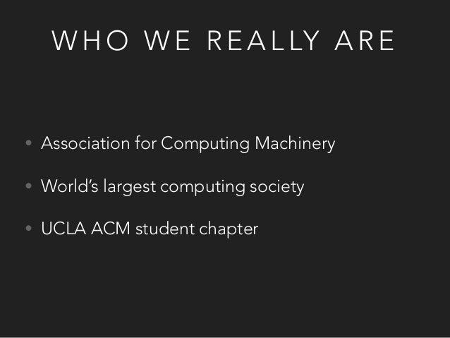 ACM @ UCLA Fall 2015 General Meeting