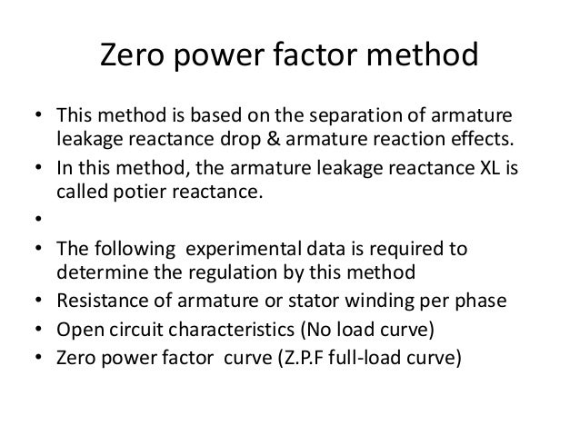 Determination of voltage regulation method of synchronous machine 16 ccuart Gallery