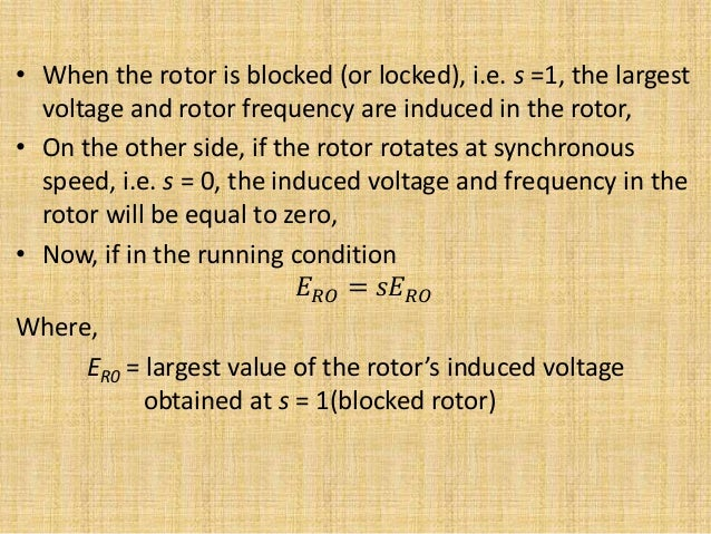 No load blocked rotor test equivalent circuit phasor diagram 4 ccuart Image collections