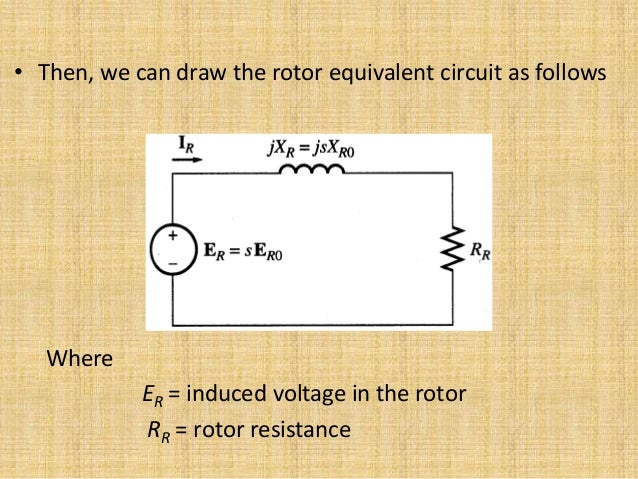 No load blocked rotor test equivalent circuit phasor diagram ccuart Image collections