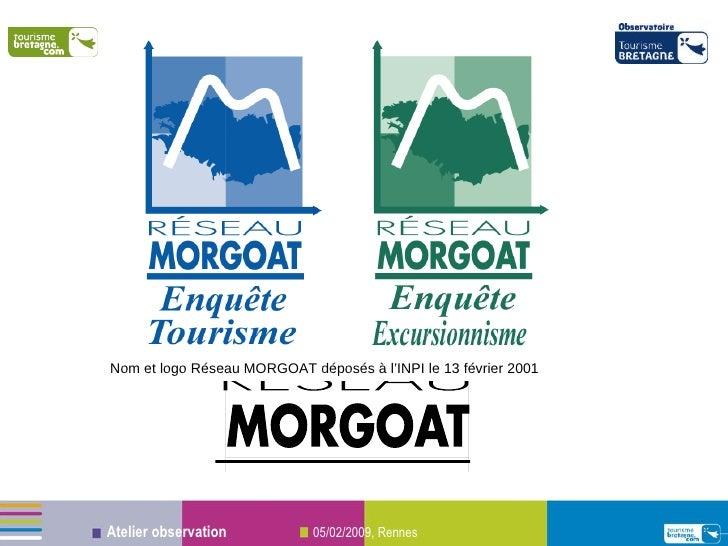 Nom et logo Réseau MORGOAT déposés à l'INPI le 13 février 2001