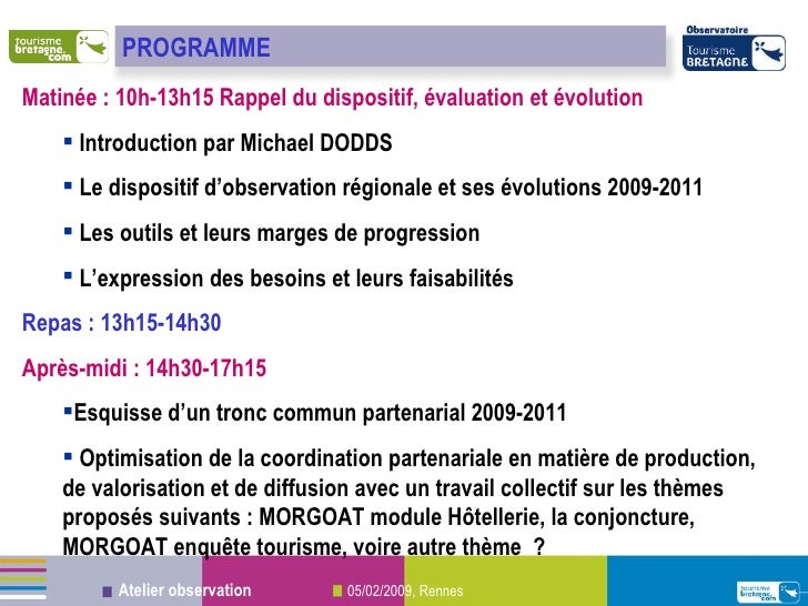 <ul><li>Matinée : 10h-13h15 Rappel du dispositif, évaluation et évolution </li></ul><ul><ul><li>Introduction par Michael D...
