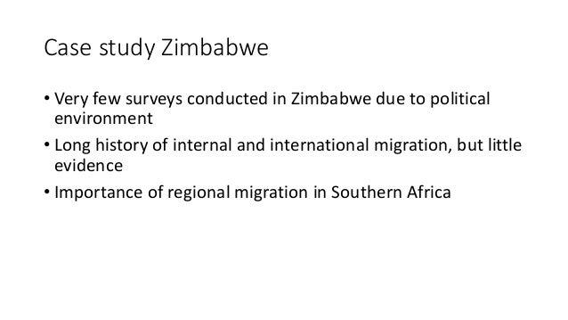 A study on zimbabwes history