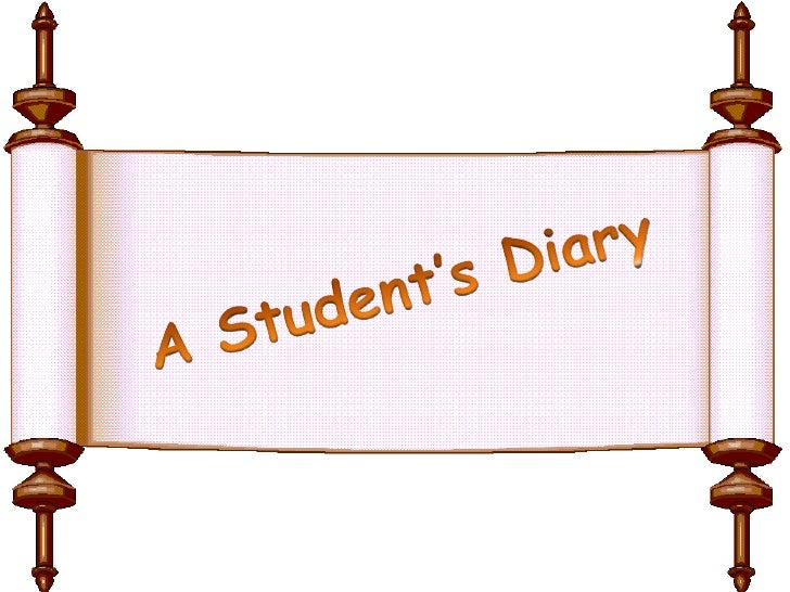 A Student's Diary <br />
