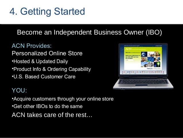 Step 7: Presenting the ACN Opportunity