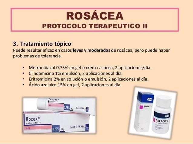 Resultado de imagen para rosacea tratamiento metronidazol doxiciclina