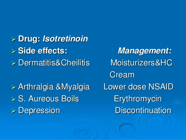 Minocin Side Effects Long Term
