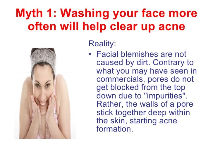 how to get rid of masturabation pimples