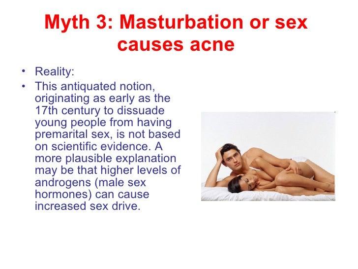 Masturbation and pimples