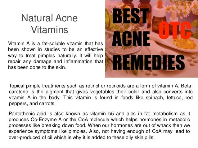 Best Acne supplements