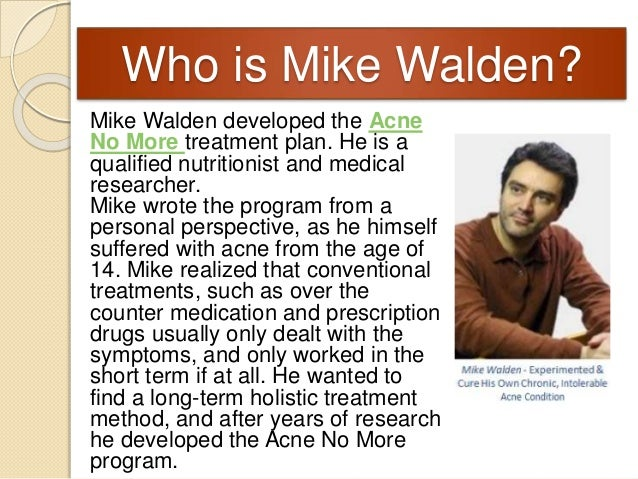 Mike Walden Acne No More Pdf Full