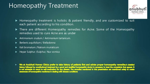 Acne pimples long-term skin disease homeopathy treatment