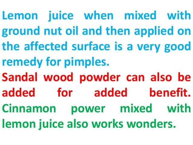 What Is A Good Home Remedy For Acne